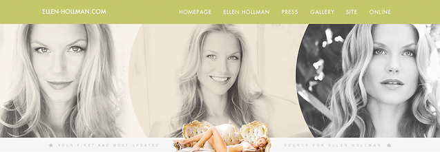 Ellen Hollman Web Has a New Layout